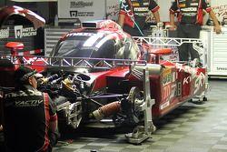 Mazda meccanici a lavoro