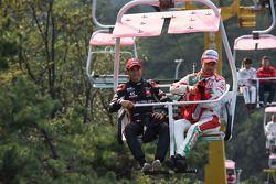 吉安尼·莫比德利,雪佛兰科鲁兹TC14,ALL-INKL.COM慕尼黑车队,提亚戈·蒙泰罗,本田思域WTCC,嘉实多本田WTCC车队和乌戈·巴伦特,雪佛兰RML 克鲁兹TC1,坎波斯车队