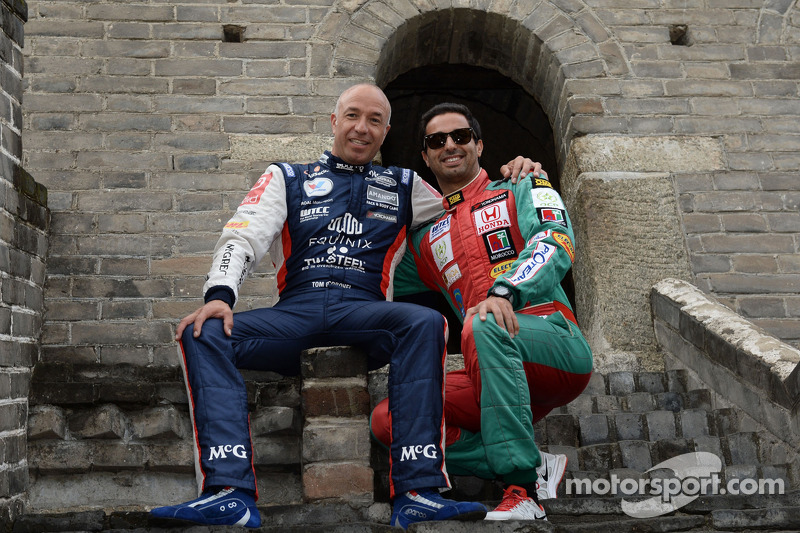 Tom Coronel, Chevrolet Cruze RML TC1, Roal Motorsport, Mehdi Bennani, Honda Civic WTCC, Proteam Corsa