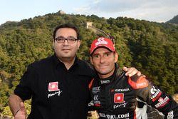 ALL-INKL_COM Munnich车队经理多米尼克·格雷纳,ALL-INKL_COM Munnich车队驾驶雪佛兰RML科鲁兹TC1赛车的吉亚尼·莫比戴利