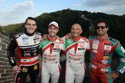 Norbert Michelisz, Honda Civic WTCC, Zengo Motorsport, Tiago Monteiro, Honda Civic WTCC, Team Castro