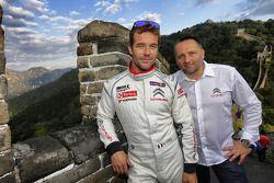 Sébastien Loeb, Citroen C-Elysee WTCC, Citroen Total WTCC, met Yves Matton
