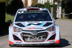 Daniel Sordo et Marc Marti, Hyundai i20 WRC, Hyundai Motorsport