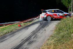Bryan Bouffier et Xavier Panseri, Hyundai i20 WRC, Hyundai Motorsport