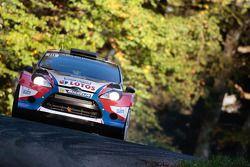Robert Kubica ve Maciek Szczepaniak, Ford Fiesta WRC