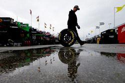 Chuva na garage