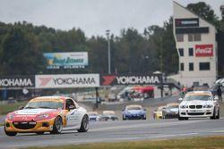 #3 CJ Wilson Racing 马自达 MX-5: Tyler McQuarrie, 马克·米勒