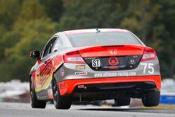 #75 Compass360 Racing Honda Civic: Kyle Gimple, Ryan Eversley