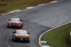#42 Team Sahlen Porsche Cayman: Wayne Nonnamaker, Michael Valiante ; #88 Rebel Rock Racing Porsche C