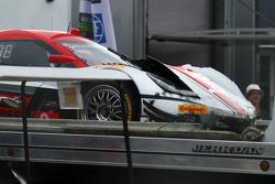 Dégâts : #9 Action Express Racing Corvette DP: Brian Frisselle, Burt Frisselle, Jon Fogarty