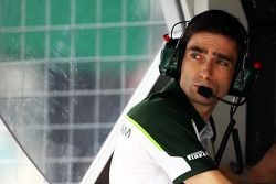 Angel Baena, Caterham F1 Team Ingegnere di pista