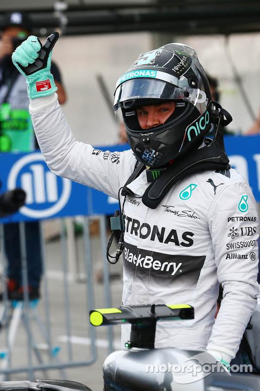 Pole para Nico Rosberg, Mercedes AMG F1 W05