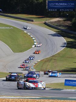 Départ : #5 Action Express Racing Corvette DP: Joao Barbosa, Christian Fittipaldi, Sébastien Bourdai