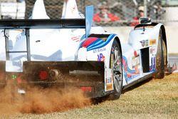Trouble for #8 Starworks Motorsport ORECA FLM09: Mirco Schultis, Renger van der Zande, Alex Popow