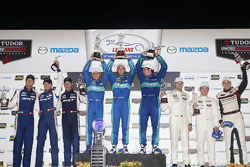 GTLM podium: winners Wolf Henzler, Bryan Sellers, Marco Holzer, second place Patrick Long, Michael Christensen, Earl Bamber, third place Ryan Hunter-Reay, Kuno Wittmer, Marc Goossens