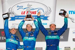 GTLM podio: vincitori Lupo Henzler, Sellers Bryan, Marco Holzer