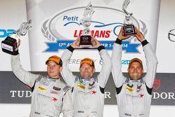 Classe PC podio: vincitori Mirco Schultis, Renger van der Zande, Alex Popow
