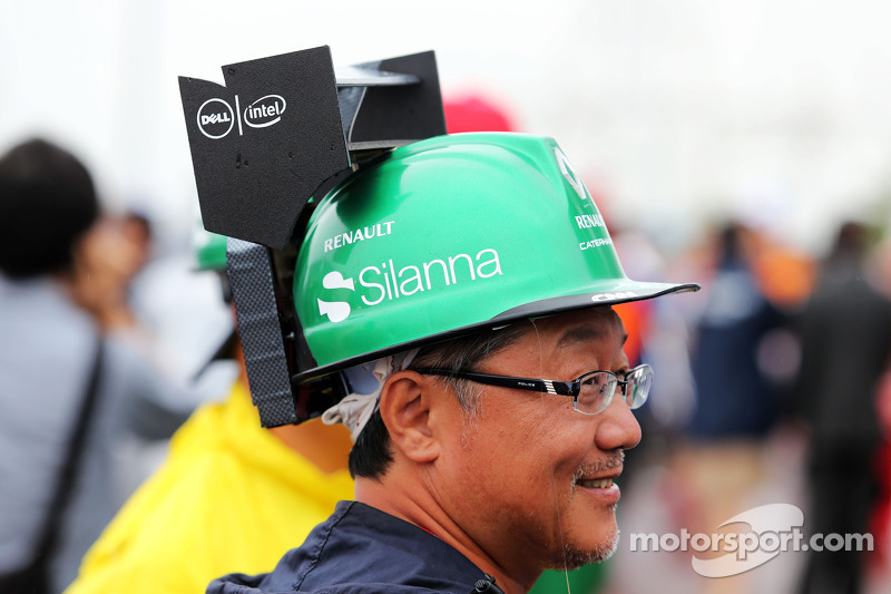 Fans and atmosphere - Caterham F1 Team fan