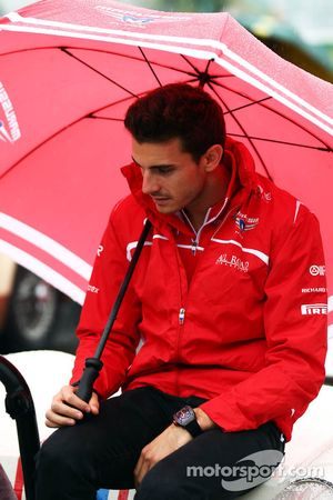 Jules Bianchi, Marussia F1 Team on the drivers parade