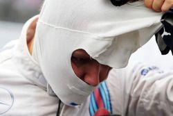 Valtteri Bottas, Williams, op de grid