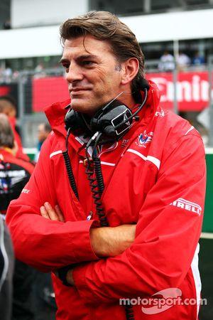 Startaufstellung: Graeme Lowdon, Teamchef Marussia F1 Team