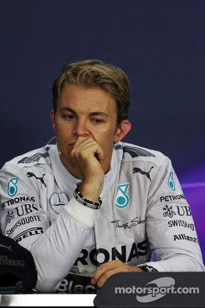 Nico Rosberg, Mercedes AMG F1 alla conferenza stampa FIA