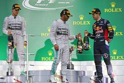 Podium: 1. Lewis Hamilton; 2.Nico Rosberg; 3. Sebastian Vettel