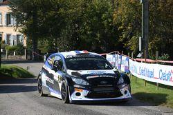 Julien Maurin y Nicolas Klinger, Ford Fiesta WRC