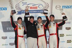 Podium GTD : Christopher Haase, Bryce Miller, Matt Bell