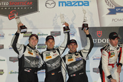 Podium GTD : John Potter, Andy Lally, Marco Seefried