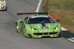 #57 Krohn Racing Ferrari F458 Italia: Tracy Krohn, Nic Jonsson, Andrea Bertolini