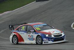 Dusan Borkovic, Chevrolet RML Cruze TC1, NIS Petrol by Campos Racing