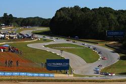 Départ : #5 Action Express Racing Corvette DP: Joao Barbosa, Christian Fittipaldi, Sébastien Bourdais