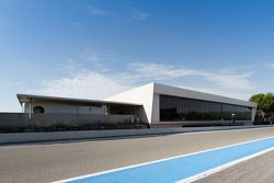 SRO Race Centre by MMC at the Mistral Hall near Paul Ricard circuit