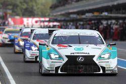 #36 Lexus Team Petronas Tom's Lexus RC F: Kazuki Nakajima, James Rossiter