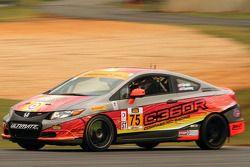 #75 Compass360 Racing 本田 思域: 凯利·金普勒, 瑞恩·埃弗斯利
