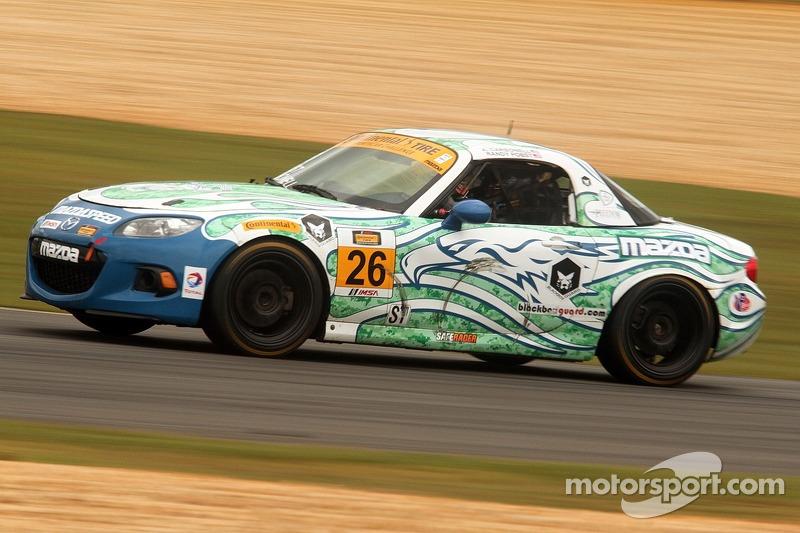 #26 Freedom Autosport 马自达 MX-5: 安德鲁·卡博内尔, 汤姆·朗