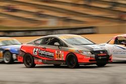 Compass360 Racing Honda Civic: James Vance, Jon Miller