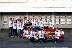 Champions Kelvin van der Linde, Rene Rast
