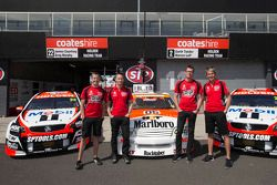 Garth Tander e Warren Luff, James Courtney e Greg Murphy