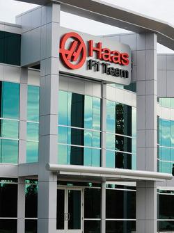 La sede de Haas F1 Team en Kannapolis, Carolina del Norte