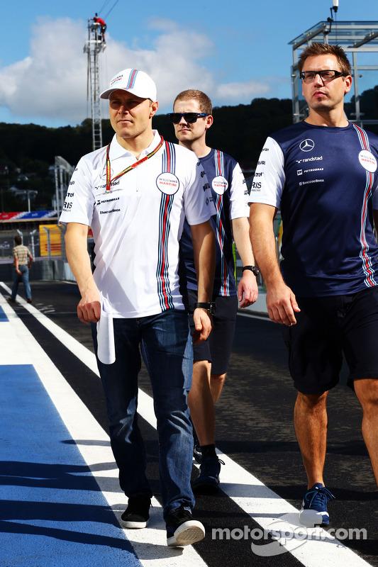 Valtteri Bottas, Williams, anda no circuito