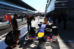 Auto von Sebastian Vettel, Red Bull Racing RB10