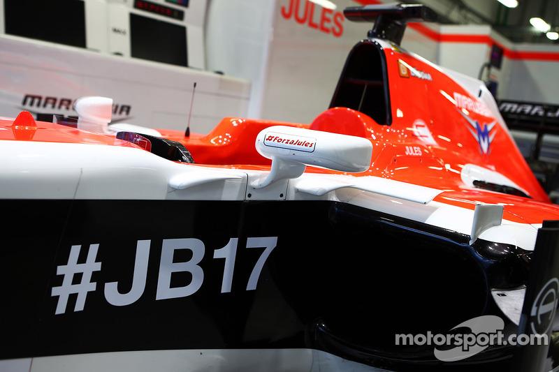 Bianchi kämpft um sein Leben, in Sochi bleibt sein Cockpit unbesetzt