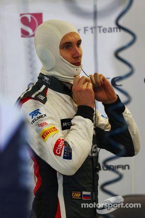 Sergey Sirotkin, collaudatore Sauber F1 Team
