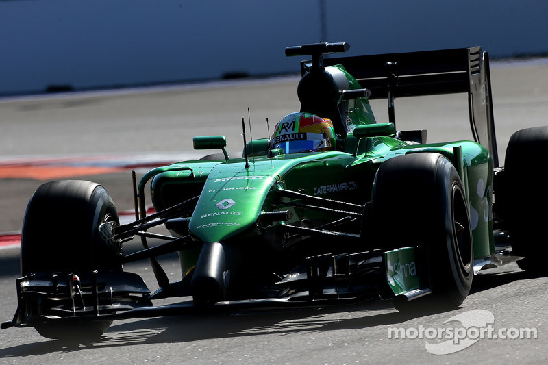 Roberto Merhi, Caterham F1 Team 10