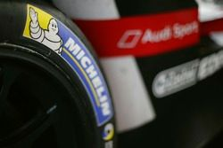 Détail de pneu Michelin