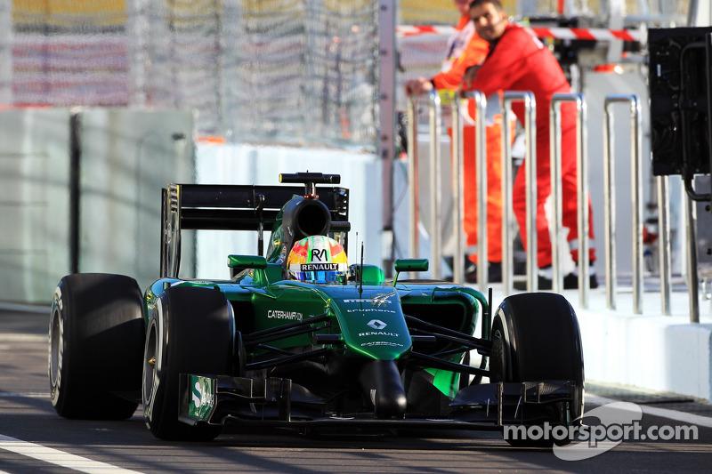 Roberto Merhi, Caterham CT05, piloto de pruebas