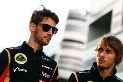Romain Grosjean avec Charles Pic