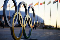 The Sochi Autodrom - Olympic Rings